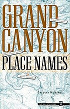 Grand Canyon place names