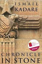 Chronicle in stone : a novel