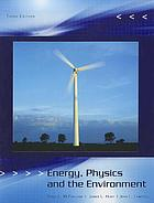 Energy, physics & the environment