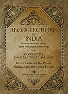 Recollections of India : drawn on stone by J.D. Harding from the original drawings by the Honourable Charles Stewart Hardinge