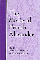 The medieval French Alexander