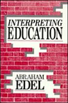 Interpreting education