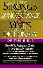 Vine's concise dictionary of Bible words