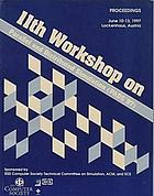 Proceedings : 12th Workshop on Parallel and Distributed Simulation : PADS'98 : May 26-29, 1998, Banff, Alberta, Canada