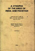 A synopsis of the birds of India and Pakistan : together with those of Nepal, Bhutan, Bangladesh, and Sri Lanka