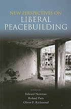 New perspectives on liberal peacebuilding