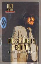 Fassbinder's Germany : history, identity, subject