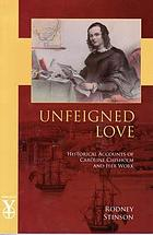 Unfeigned love : historical accounts of Caroline Chisholm and her work