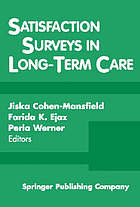 Satisfaction surveys in long-term care