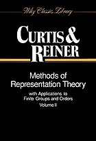 Methods of representation theory with applications to finite groups and orders