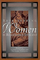 Representing women in Renaissance England