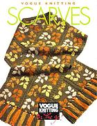 Vogue knitting scarves