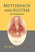Metternich : an evaluation