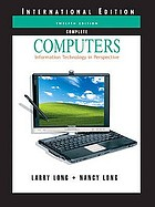 Computers : information technology in perspective