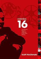 Cinema 16 : documents toward a history of the film society