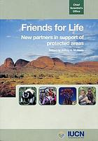 Friends for life : new partners in support of protected areas
