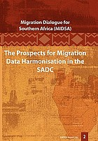 The prospects for migration data harmonisation in the SADC