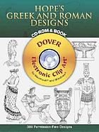 Hope's Greek and Roman designs : CD-ROM & book