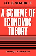 A scheme of economic theory