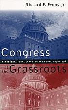 Congress at the grassroots : representational change in the South, 1970-1998