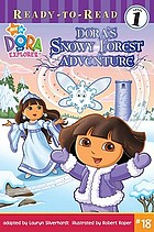 Dora's snowy forest adventure