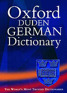 The Oxford Duden German dictionary : German-English, English-German
