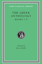 The Greek anthology : in five volumes
