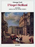 I vespri siciliani : dramma in cinque atti
