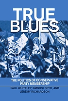 True blues : the politics of Conservative Party membership