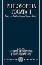 Philosophia togata : essays on philosophy and Roman society