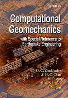 Computational geomechanics with special reference to earthquake engineering