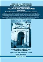 "International Seminar on Nuclear War and Planetary Emergencies, 32nd session : the 32nd session of international seminars and international collaboration : ""E. Majorana"" Centre for Scientific Culture, Erice, Italy, 19-24 Aug. 2004"