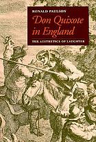 Don Quixote in England : the aesthetics of laughter