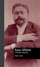 Isaac Albéniz : a guide to research
