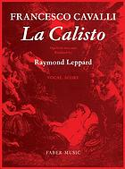La Calisto : opera in two acts with prologue