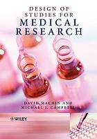 Design of studies for medical research