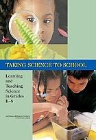Taking science to school : learning and teaching science in grades K-8