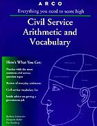 Civil service arithmetic and vocabulary