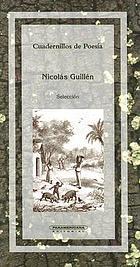 Nicolás Guillén : [antología poética