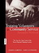 Training volunteers for community service : the step-by-step guide of the Shanti National Training Instititute