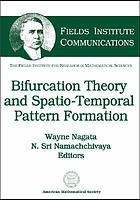 Bifurcation theory and spatio-temporal pattern formation