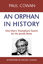 An orphan in history : one man's triumphant search for his Jewish roots
