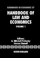 Handbook of law and economicsHandbook of law and economics