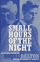 Small hours of the night : selected poems of Roque Dalton
