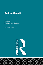 Andrew Marvell the critical heritage