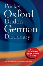 The Pocket Oxford-Duden German dictionary : English-German, German-English