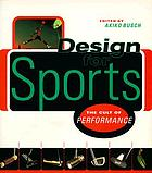 Design for sports : the cult of performance