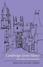 Cambridge street-names : their origins and associations