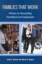 Work and care : reconciling parenthood and employment
