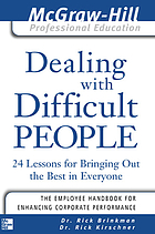 Ru he ying fu nan xiang chu de ren = Dealing with difficult people